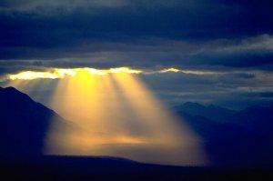 Sun light from Above